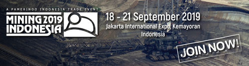 HALLD1-8105  Mining Indonesia – September 18-21 , 2019, Jakarta Jakarta International Expo, Kemayoran.