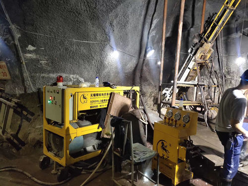 Underground Core Drilling Machine 450m Drilling Project