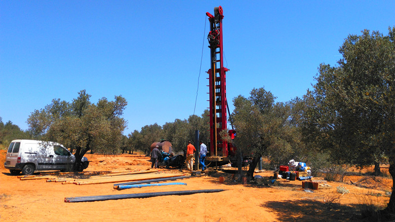 china latest news about RС4 Water Well Drilling Rigs Project in Tunisia