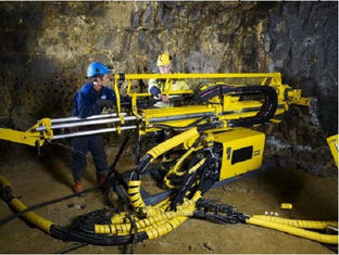 Max rod size 89mm Underground Core Drill Rig  with NQ dirlling depth 760m Power 75kw