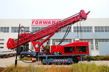Universal Full Hydraulic Multifunction Top Drive Drill Rig Used For DTH RC Drilling
