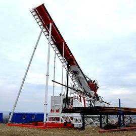 Top Drive Oil Rig with Drilling angle 12-90, mounting is carried out at the working area
