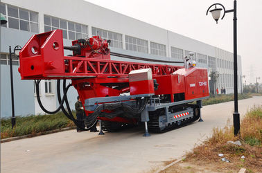 The maximum drilling depth1500m Top Drive Rig Oilfield workover Drilling Rig With Crawler Mounted