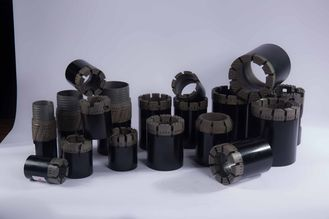 China Impregnated Diamond Core Drill Bits 6mm 8mm 10mm 12mm For Geological Survey supplier