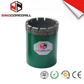 NW HW Diamond Casing Shoe Diamond Core Bit , Durable Impregnated Diamond Core Drill Bit
