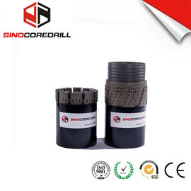 Medium To Hard Formation Impregnated Diamond Core Drill Bit bq nq hq pq