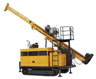 Full Hydraulic Multifunction Core Drill Rig TDR-50 , Top Drive Drill Rig 1500m