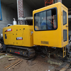Yellow Color 32 Tons Horizontal Directional Drilling Rigs 0-140RPM Spindle Speed