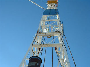 China hydraulic Drilling Rig derrick - mast 2200N·m Max.Torque for drilling rig supplier