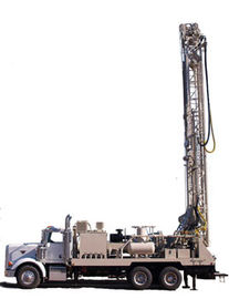 Surface Drilling Rig Mast For Quarry / Railway Construction , High Speed