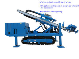 China Φ150~Φ250 Hydraulic Impact  80~100 m   Top Drive Anchor Drilling Rig supplier