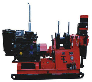 300m Hydrolic Chuck Spindle Mining Geological Core Drilling Machine