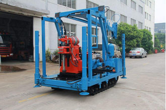 Large power Core drilling rig of Spindle Speed(rmp) 22kw 1470rmp, drilling depth up to 600 meters