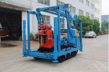 Large Power Spindle Speed Diamond Drill Rig 22kw 1470rmp Drilling Depth Up To 600 Meters