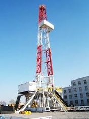 Drilling Rig Mast / Drilling Rig Derrick For Oil Drilling To API Standard
