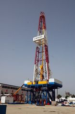 High Performance Drilling Rig Mast With Pneumatic And Hydraulic Motor LR5002