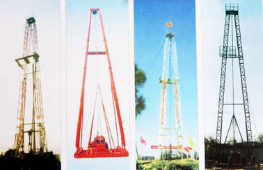 Vertical Shaft Core Drilling Rig Mast / Straight And Slanting Drill Tower