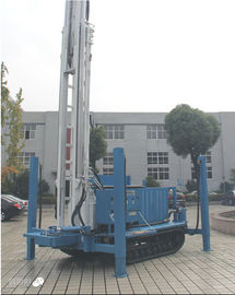 Multi Function Water Well Drilling Rig Track Mounted 200m Deep Water Hole