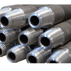 High Tensile Aw 44.5mm / 1.75 Inch Conventional Drill Rods 3m 1.5m  For Mineral Exploration