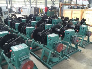 High Efficiency Drill Rig Parts Coring Winch / Wireline Winch JS -1 1500M