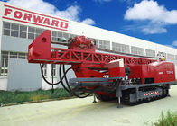 China 1800m DTH RC Top Drive Rig Water Well Drilling Rig With Crawler Mounted company