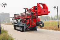 China The maximum hole depth1500m  DTH RC Top Drive Rig Water Well Drilling Rig With Crawler Mounted company