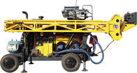 HWL Drilling Depth 1000m  Wheel Trailer Hydraulic Core Drilling Machine