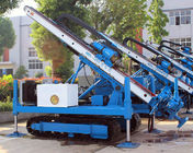 0~ 90 ° Hydraulic Crawler Deep Foundation Pit Anchor Drilling Rig