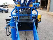 China 89mm drilling hole diameter   Water Well Drilling Rig Trailer mounted company