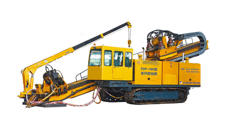 Truck Crawler HDD Rig With 1800KN Pull Capacity For ...