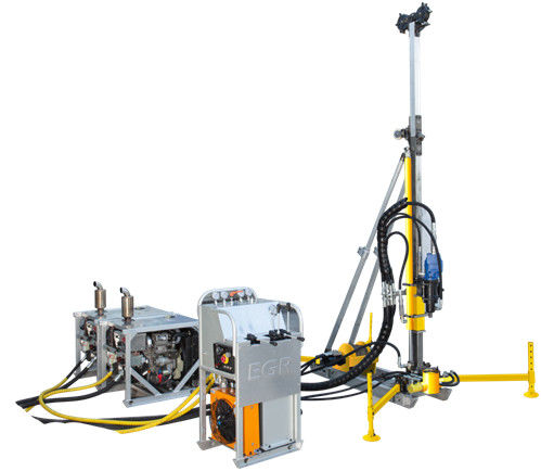 200M Depth Portable Core Drill Rig Lightweight Design And