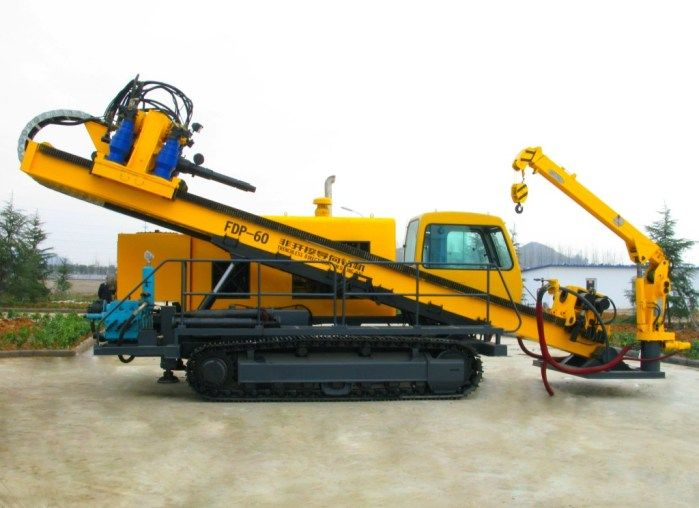 Precision Horizontal Directional Drilling Rigs For Truck ...