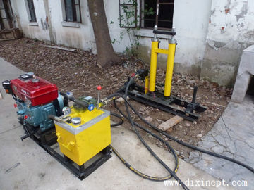 Hydraulic Quick Coupling Cone Penetration Test Apparatus Weight 180kg ISO9001