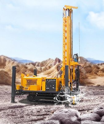 600m 650mm Truck Mounted Water Well Drilling Rig Yuchai Borehole Drilling Rig TSJ-600X70 Deep Multi - Function