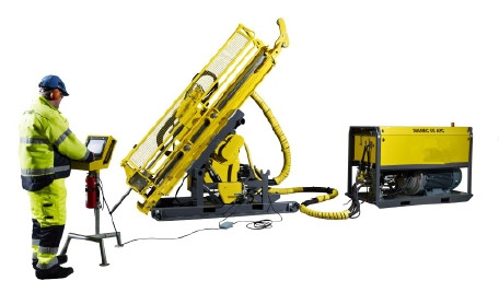 Underground Core Drill Rig UX1000 BQ NQ HQ With  Automatic Performance Control