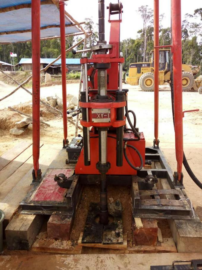 GXY-1 / GXY-1T Spindle Core Drilling Machine With Tower 150m  11kw
